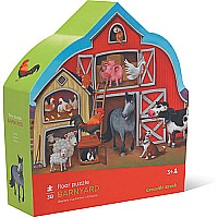 Barnyard Floor Puzzle 30pc