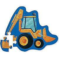 Digger 12-Piece Mini Puzzle