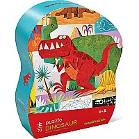 Dinosaur 72-Piece Learn 'n Play Puzzle