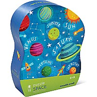 Crocodile Creek Learn 'n Play Puzzle - Space 72-Piece Puzzle