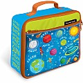 "Crocodile Creek Eco Kids Solar System Insulated Kids' Lunchbox 10"" with handle"