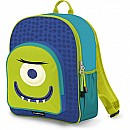 Crocodile Creek Eco Kids Glow in the Blue and Green Alien Kids School Backpack 14""