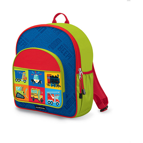 383df4fa68 Crocodile Creek Eco Kids Blue Vehicle Kids School Backpack 14 ...
