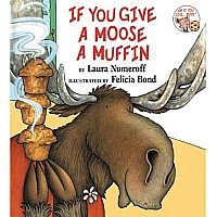 Book Hardcover Moose a Muffin