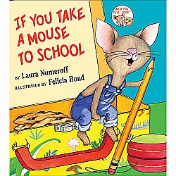 Book Hardcover Mouse to School