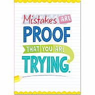 Mistakes Are Proof... Inspire U Posters