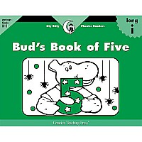 Bud's Book of Five, Itty Bitty Phonics Readers