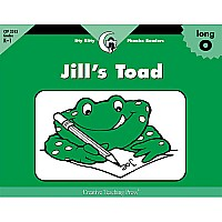 Jill's Toad, Itty Bitty Phonics Readers