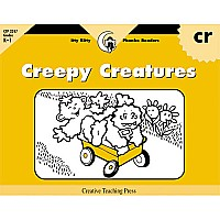 Creepy Creatures, Itty Bitty Phonics Readers