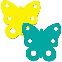 Butterfly Two-color Calendar Cut-outs