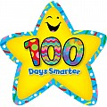 100 Days Smarter Star Badges
