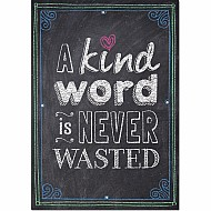 A Kind Word Is Never Wasted... Inspire U Poster