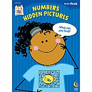 Numbers: Hidden Pictures Stick Kids Workbook, Grade Prek