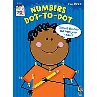 Numbers: Dot-to-dot Stick Kids Workbook, Grade Prek