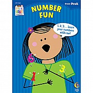 Number Fun Stick Kids Workbook, Grade Prek