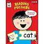 Kindergarten: Reading Puzzlers Workbook