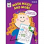 1st grade: Math, Mazes, and More Workbook