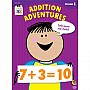 1st grade: Addition Adventures Workbook