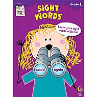 Sight Words Stick Kids Workbook, Grade 1
