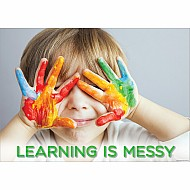 Learning Is Messy Inspire U Poster