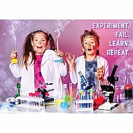 Experiment. Fail. Learn. Repeat Inspire U Poster
