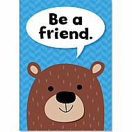 Be A Friend. Inspire U Poster (Wf)