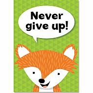 Never Give Up. Inspire U Poster(Wf)