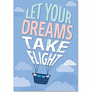 Let Your Dreams Take Flight Inspire U Poster