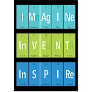 Imagine. Invent. Inspire. Inspire-U Poster
