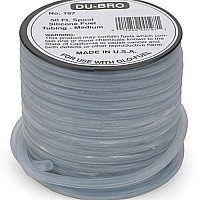 Medium Nitro super blue Silicone Tubing (per foot)