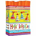 Design Design Party Hats Birthday Gift Bag, Large