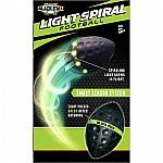 Black Max Light Spiral Football