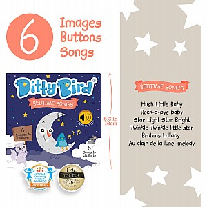 Ditty Bird Baby Sound Book: Bedtime Songs
