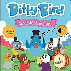 Ditty Bird Baby Sound Book: Classical Music