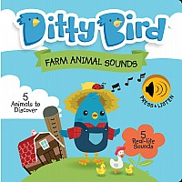 Ditty Bird Baby Sound Book: Farm Animal Sounds