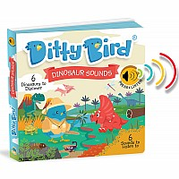 Ditty Bird Baby Sound Book: Dinosaur Sounds