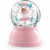 Snow Ball Night Lights - Ballerina (Batteries Required)