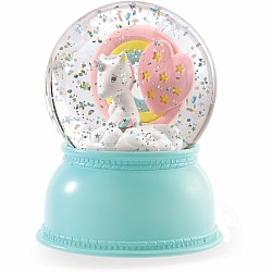 Snow Ball Night Lights - Unicorn (Batteries Required)