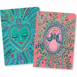 Djeco Love Aurélia Little Notebooks (Set Of 2)