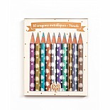 10 Chichi Mini Metallic Pencil