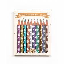 Pencils 10 Chichi Mini Metalic Pencils