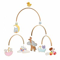 Wooden Mobiles Baby Animals
