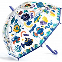 Fishes Color-Changing Children'S Umbrella
