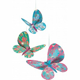 Airy Objects To Hang - Glitter Butterflies