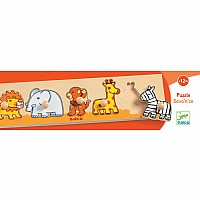 Djeco Sava'N'Co Wooden Puzzle