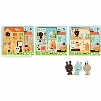 3 Layers Wooden Puzzles - Chez-Carot