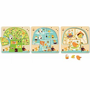 3 Layers Wooden Puzzles - Chez-Nut