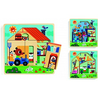 Wooden Puzzles Chez Gaby