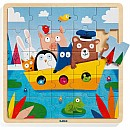 Djeco Puzzlo Boat Wooden Jigsaw Puzzle