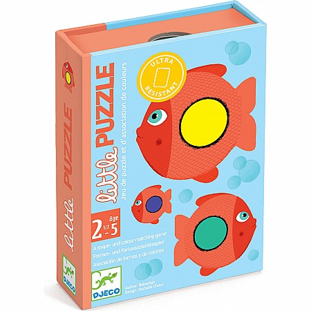 Djeco Little Puzzle Color Matching Toddler Card Game